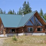 Magnificent Log Home With Views of Mt Rainier